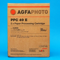 AGFA CP-49E x2cart do FUJI Frontier